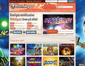 LeoVegas - Ett riktigt bra mobilcasino