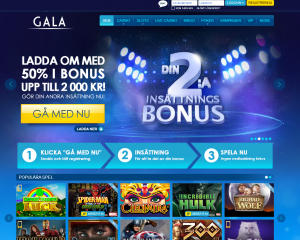 Gala mobil casino